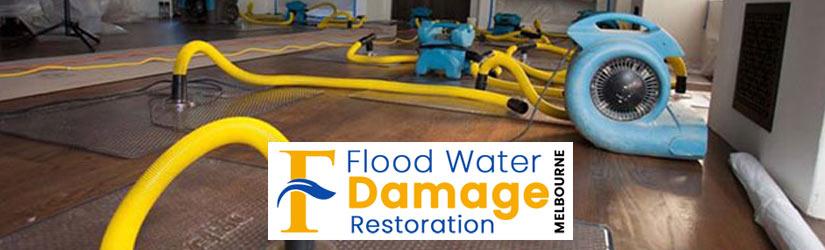 Flood Water Damage Restoration Melbourne